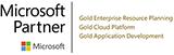 Microsoft Gold ERP Cloud Application