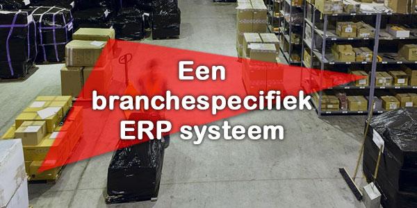 Branchespecifiek erp systeem