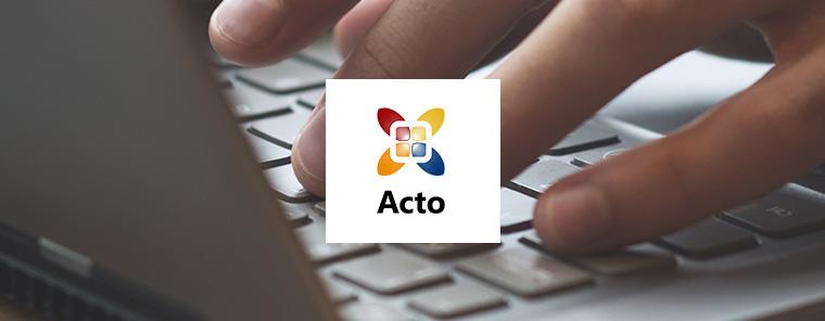 Acto Informatisering