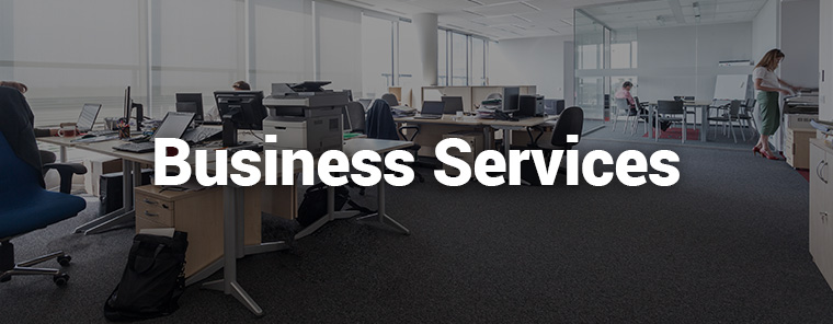 Ein ERP-System für Business Services