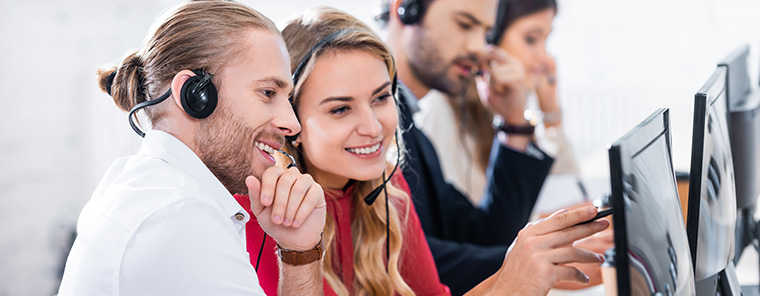 Call Center außer Stande Kunden zufriedenzustellen
