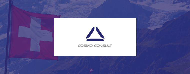 COSMO CONSULT baut aus in der Schweiz