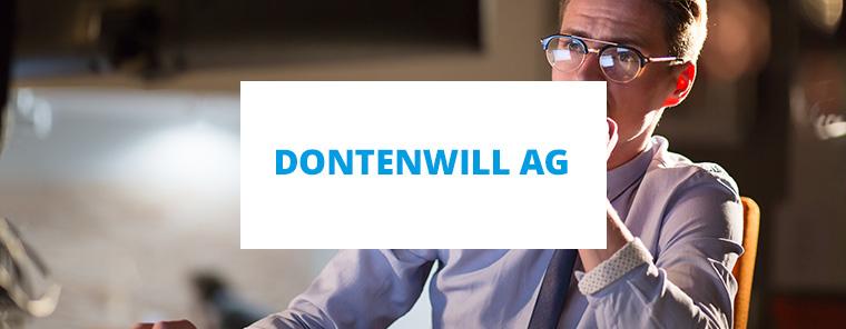 Dontenwill AG mit neuer ERP-Version
