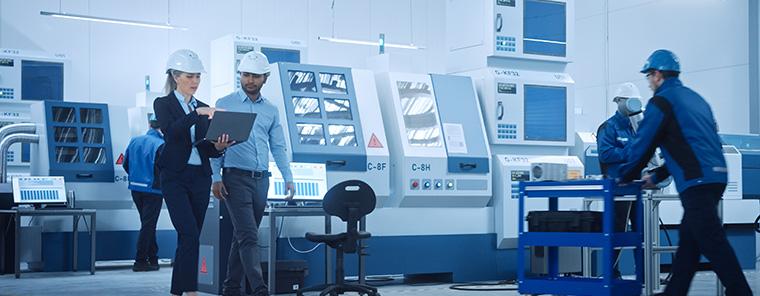 ERP-Software samt KI für die Fertigung