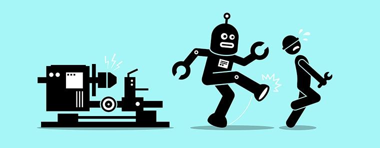 Gefährdet die Digitalisierung Arbeitsplätze?