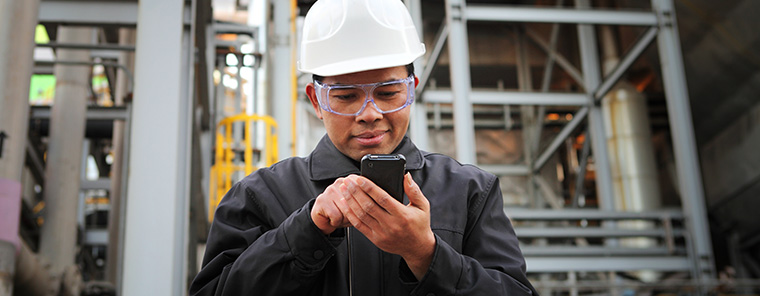 Mobile ERP-Software für die Installation und Wartung