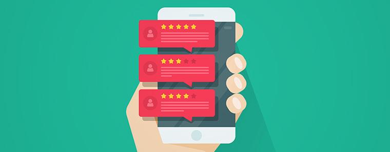 Online-Bewertungen tückisch