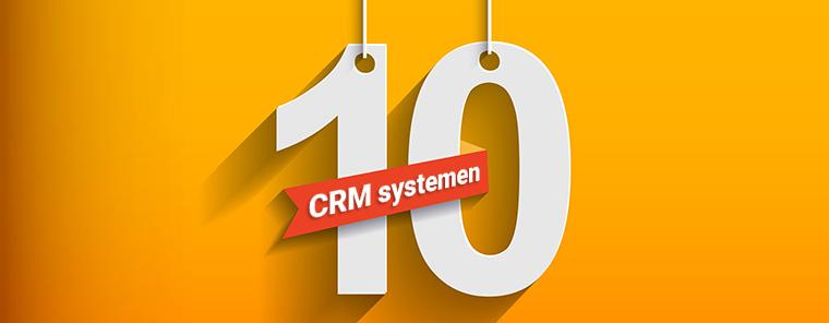 Top 10 CRM-systemen