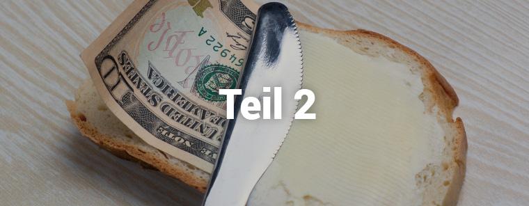Was kostet ein Brötchen? – Teil 2